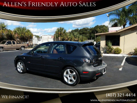 2005 Mazda MAZDA3 for sale at Allen's Friendly Auto Sales in Sanford FL