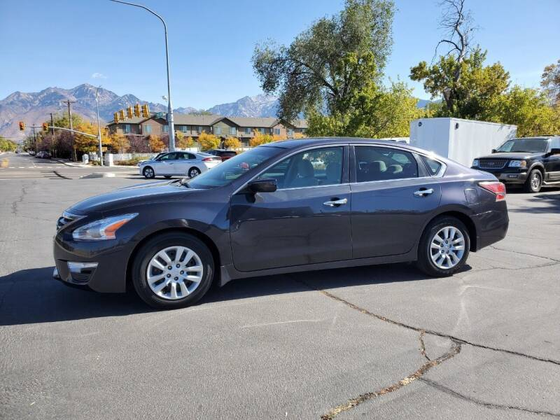 2014 Nissan Altima for sale at UTAH AUTO EXCHANGE INC in Midvale UT