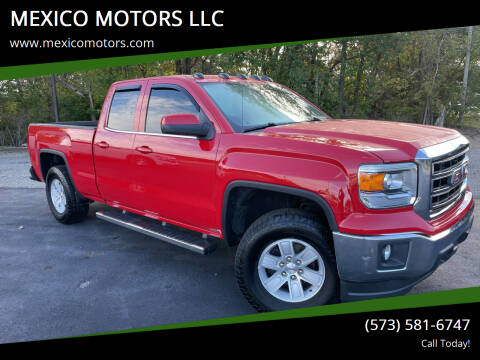2014 GMC Sierra 1500 for sale at MEXICO MOTORS LLC in Mexico MO
