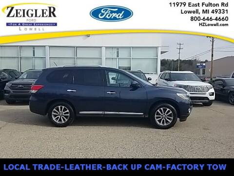 2013 Nissan Pathfinder for sale at Zeigler Ford of Plainwell- Jeff Bishop in Plainwell MI