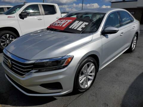 2020 Volkswagen Passat for sale at THE TRAIN AUTO SALES & RENTALS in Taylors SC