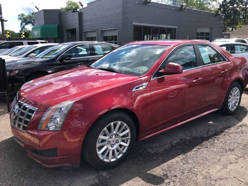 2012 Cadillac CTS for sale at Champs Auto Sales in Detroit MI