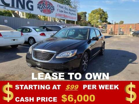 2013 Chrysler 200 for sale at Auto Mart USA in Kansas City MO