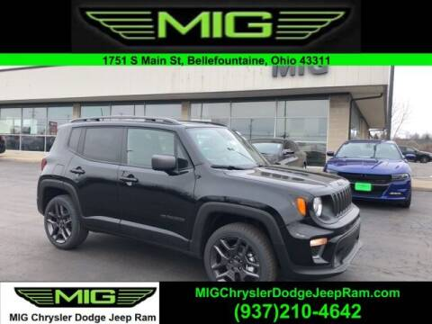 2021 Jeep Renegade for sale at MIG Chrysler Dodge Jeep Ram in Bellefontaine OH