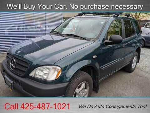 1998 Mercedes-Benz M-Class for sale at Platinum Autos in Woodinville WA