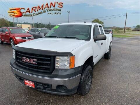 2008 GMC Sierra 1500 for sale at Carmans Used Cars & Trucks in Jackson OH