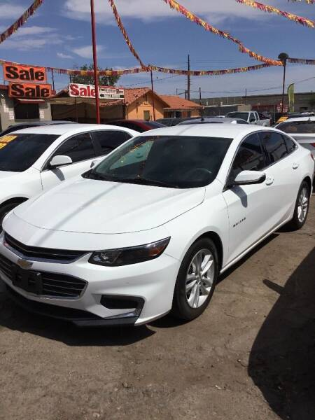 2016 Chevrolet Malibu for sale at Ram Auto Sales LLC in Phoenix AZ