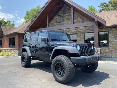 2008 Jeep Wrangler Unlimited for sale at Auto Solutions in Maryville TN