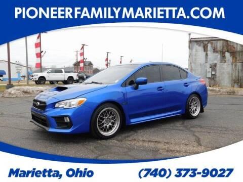 2019 Subaru WRX for sale at Pioneer Family auto in Marietta OH
