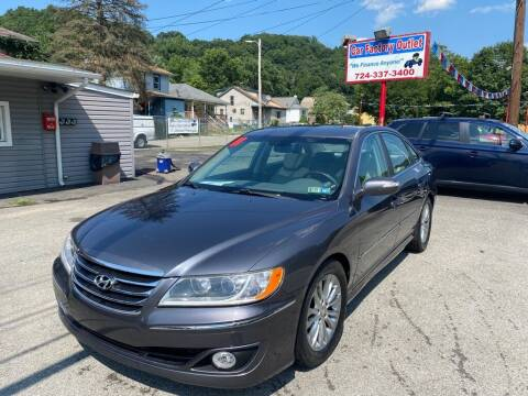 2011 Hyundai Azera for sale at Car Factory Outlet in Lower Burrell PA
