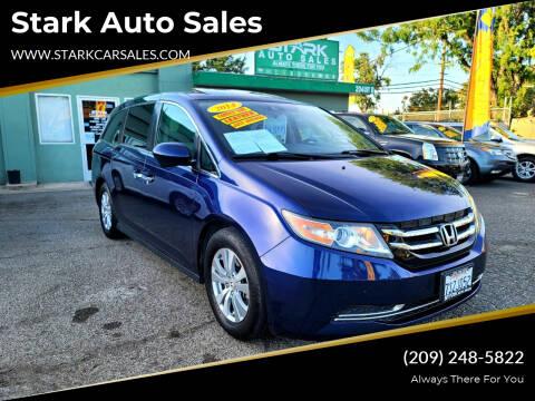 2014 Honda Odyssey for sale at Stark Auto Sales in Modesto CA