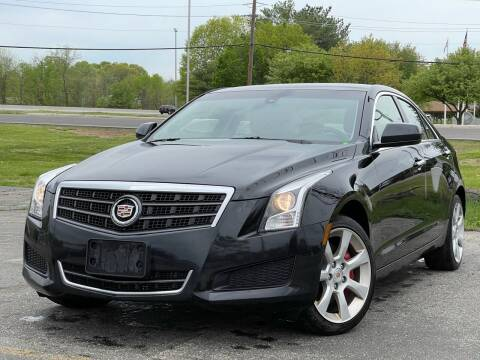 2013 Cadillac ATS for sale at MAGIC AUTO SALES in Little Ferry NJ