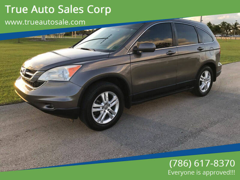 2011 Honda CR-V for sale at True Auto Sales Corp in Miami FL
