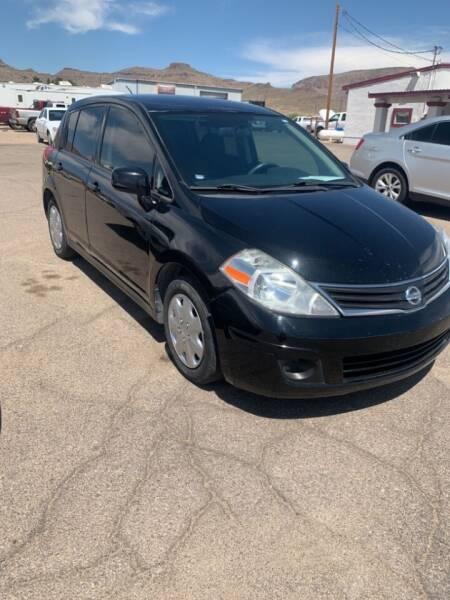 2012 Nissan Versa for sale at Poor Boyz Auto Sales in Kingman AZ