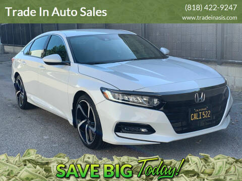 2019 Honda Accord for sale at Trade In Auto Sales in Van Nuys CA