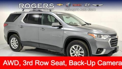 2018 Chevrolet Traverse for sale at ROGERS  AUTO  GROUP in Chicago IL