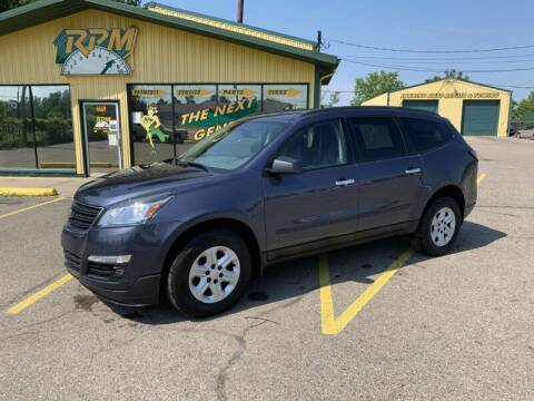 2014 Chevrolet Traverse for sale at RPM AUTO SALES in Lansing MI
