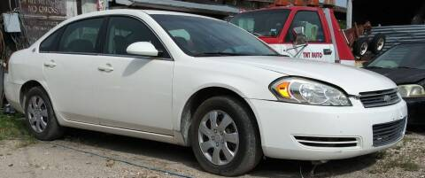 2008 Chevrolet Impala for sale at Ody's Autos in Houston TX