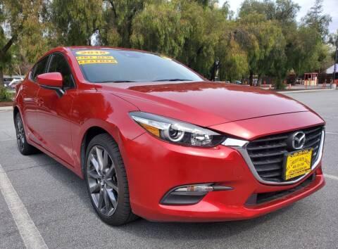 2018 Mazda MAZDA3 for sale at ALL CREDIT AUTO SALES in San Jose CA