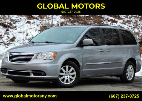 2015 Chrysler Town and Country for sale at GLOBAL MOTORS in Binghamton NY