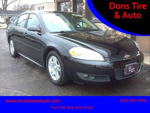 2011 Chevrolet Impala for sale at Dons Tire & Auto in Butler WI