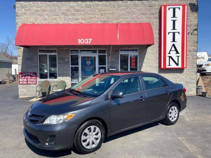 2013 Toyota Corolla for sale at Titan Auto Sales LLC in Albany NY