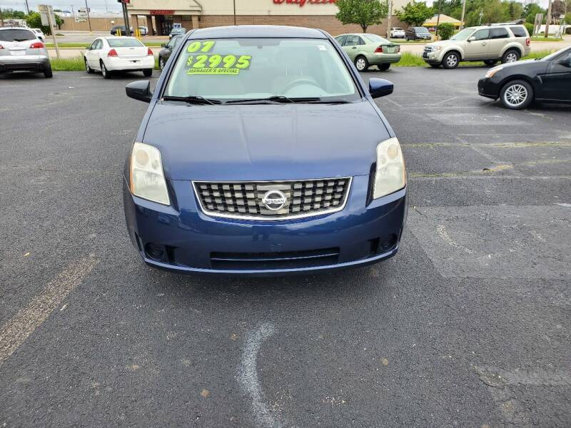 2007 Nissan Sentra for sale at Discount Auto World in Morris IL
