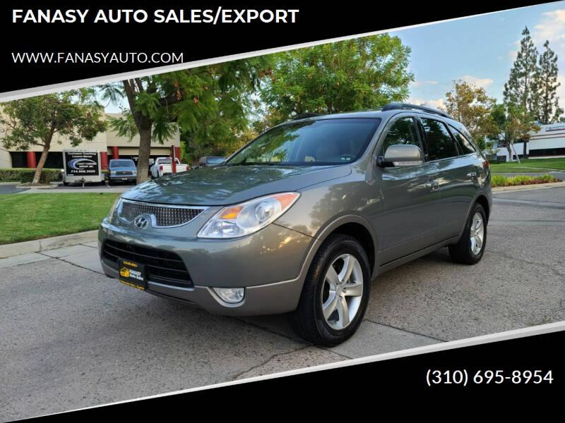2008 Hyundai Veracruz for sale at FANASY AUTO SALES/EXPORT in Yorba Linda CA