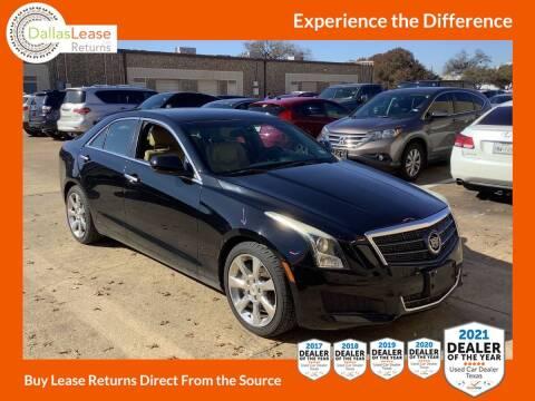 2013 Cadillac ATS for sale at Dallas Auto Finance in Dallas TX