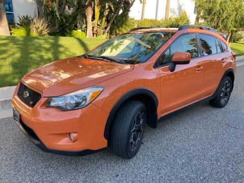 2014 Subaru XV Crosstrek for sale at Donada  Group Inc in Arleta CA