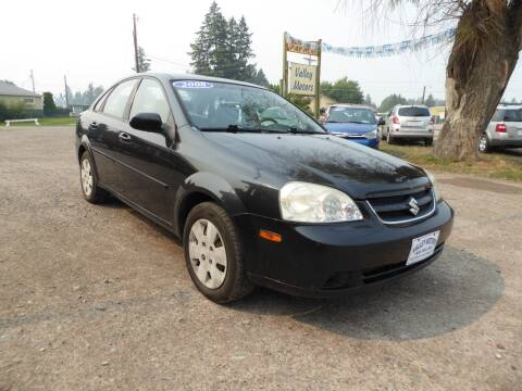 2008 Suzuki Forenza for sale at VALLEY MOTORS in Kalispell MT