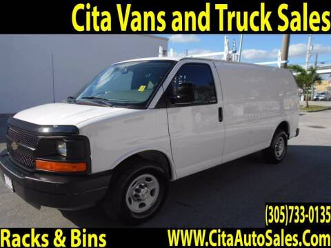 2015 Chevrolet Express Cargo for sale at Cita Auto Sales in Medley FL