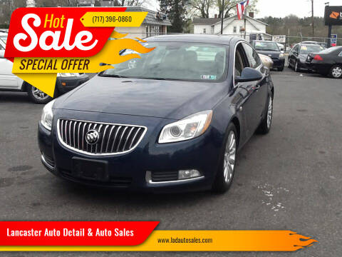 2011 Buick Regal for sale at Lancaster Auto Detail & Auto Sales in Lancaster PA