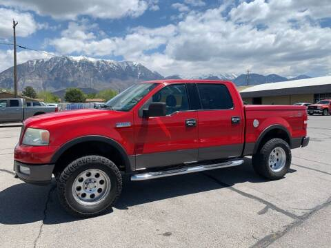 2004 Ford F-150 for sale at Street Dreams LLC in Orem UT