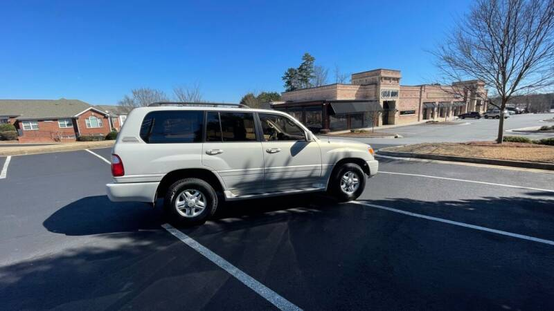 1999 Lexus LX 470 for sale at A LOT OF USED CARS in Suwanee GA
