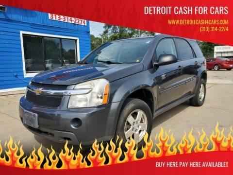 2009 Chevrolet Equinox for sale at Detroit Cash for Cars in Warren MI