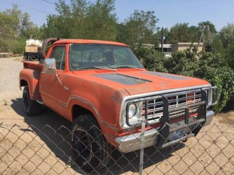 1976 Dodge D100 Pickup for sale at Classic Car Deals in Cadillac MI