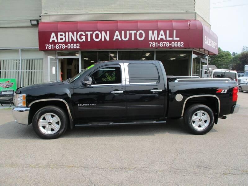 2012 Chevrolet Silverado 1500 for sale at Abington Auto Mall LLC in Abington MA
