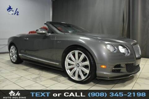 2015 Bentley Continental for sale at AUTO HOLDING in Hillside NJ