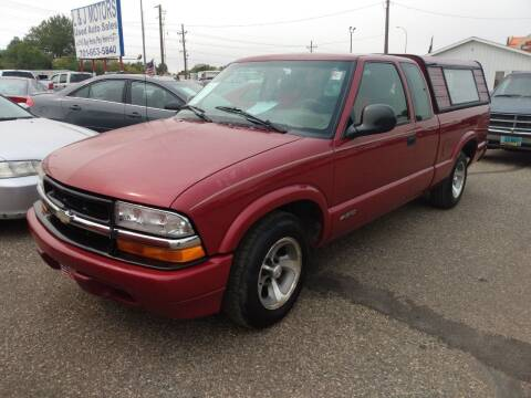 1998 Chevrolet S-10 for sale at L & J Motors in Mandan ND
