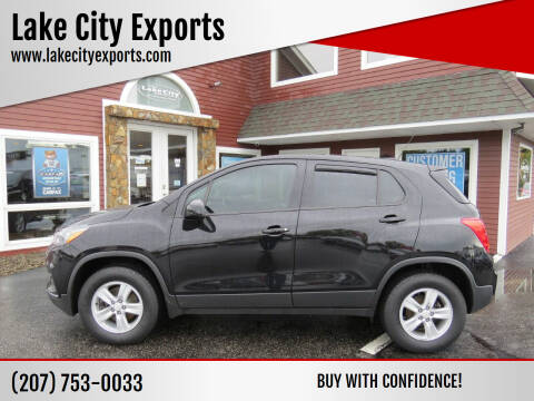 2017 Chevrolet Trax for sale at Lake City Exports in Auburn ME