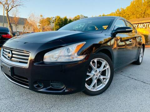 2014 Nissan Maxima for sale at Classic Luxury Motors in Buford GA