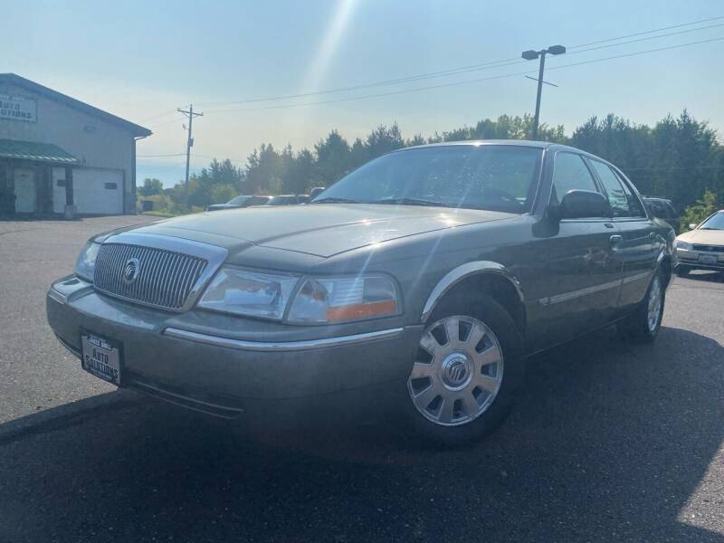 2003 Mercury Grand Marquis for sale at Lakes Area Auto Solutions in Baxter MN