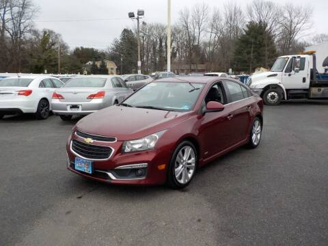 2015 Chevrolet Cruze for sale at United Auto Land in Woodbury NJ