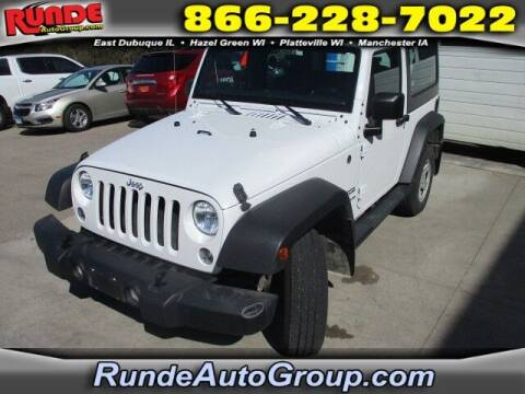 2017 Jeep Wrangler for sale at Runde Chevrolet in East Dubuque IL