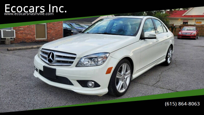 2010 Mercedes-Benz C-Class for sale at Ecocars Inc. in Nashville TN