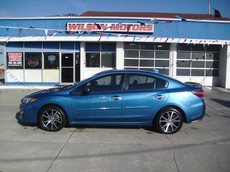 2017 Subaru Impreza for sale at Wilson Motors in Junction City KS