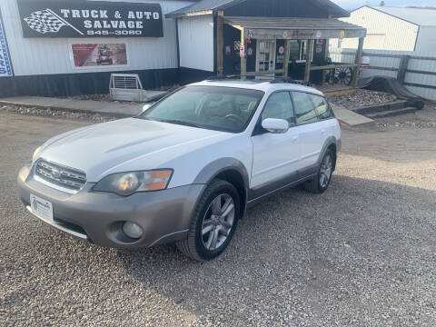 2005 Subaru Outback for sale at TRUCK & AUTO SALVAGE in Valley City ND