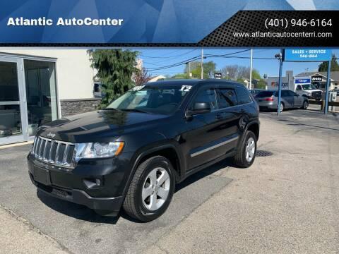 2012 Jeep Grand Cherokee for sale at Atlantic AutoCenter in Cranston RI