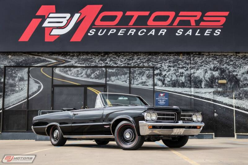 1964 Pontiac GTO for sale at BJ Motors in Tomball TX